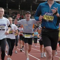 Feldten Marine attending Stockholm Marathon